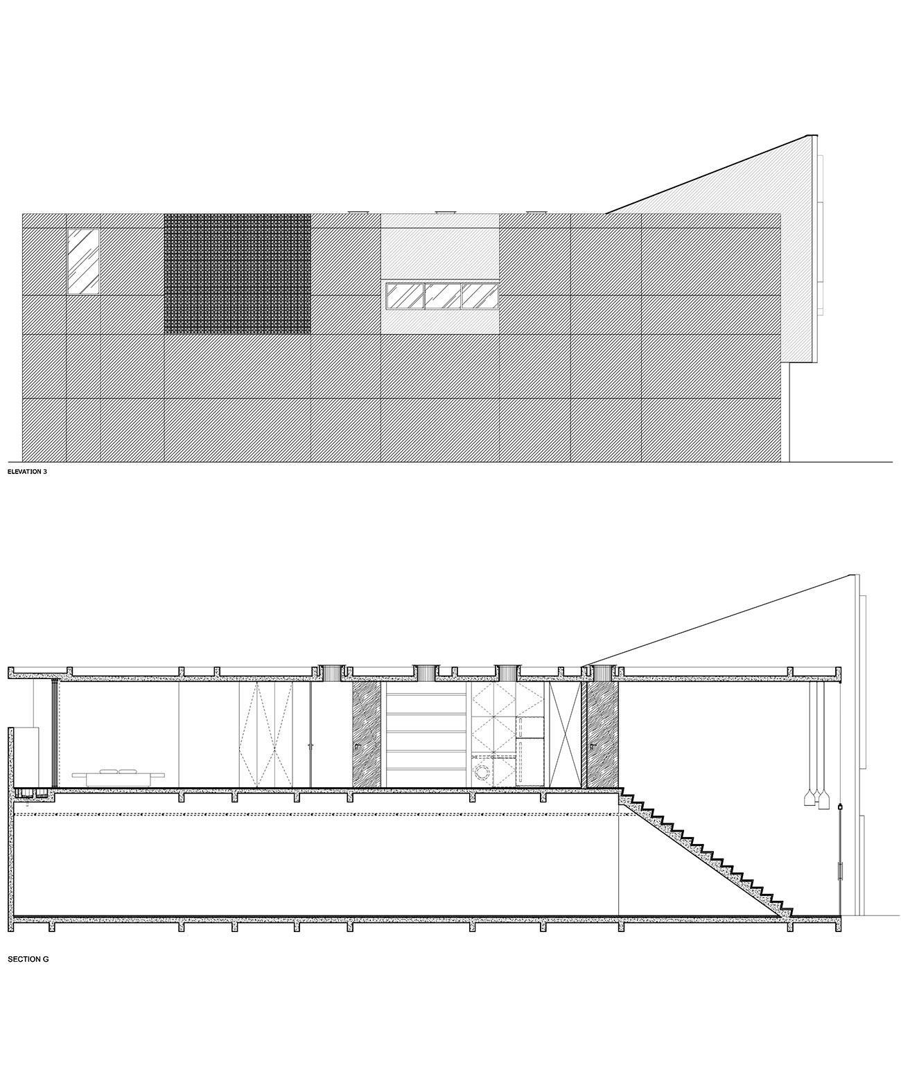 TERAS SECTIONS-ELEVATION