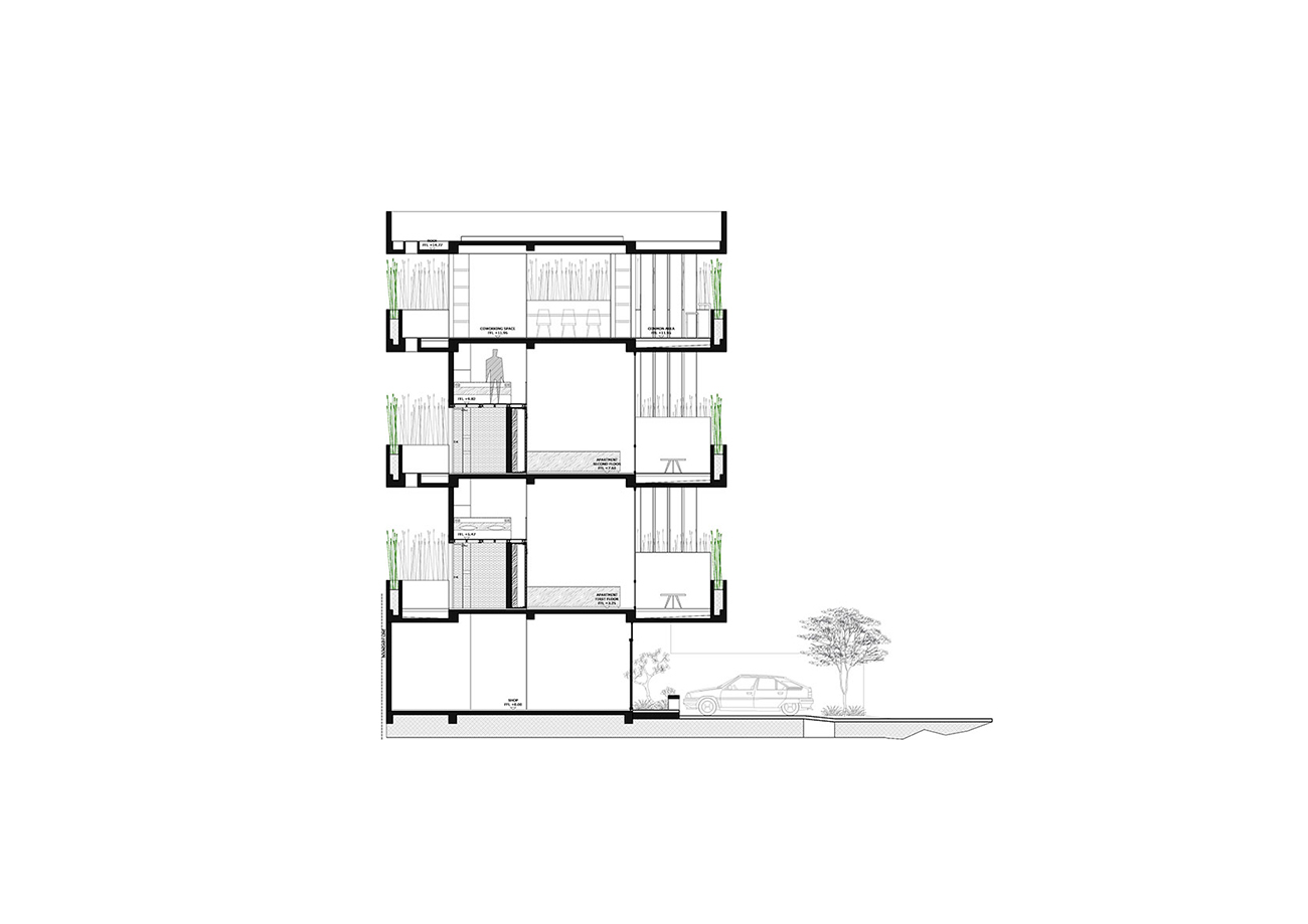 BERAWA-APARTMENT-ELEVATION